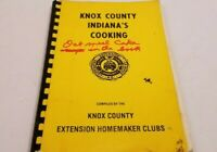 Vintage Knox County Ind Vincennes Ind Cooking Extension Homemakers Clubs 1979 Wi