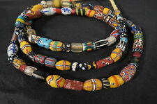 Antike Glasperlen Murano Venedig T5 Old Venetian African trade beads Afrozip