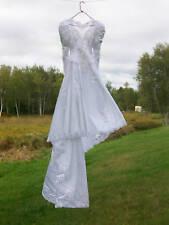 BEAUTIFUL WEDDING DRESS/GOWN, SLIP & VEIL Alfred Angelo