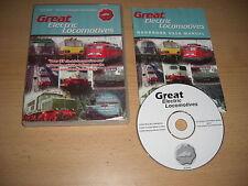 GRANDE LOCOMOTIVE ELETTRICHE PC CD ROM add-on di espansione TRAIN SIMULATOR SIM MSTS