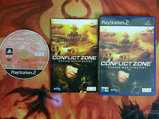 CONFLICT ZONE PLAYSTATION 2 PS2 ENVOI 24/48H