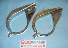FIAT 500 R 126 EPOCA KIT COMPLETO 4 PEZZI STAFFE FISSAGGIO MARMITTA IMP. SCARICO