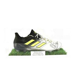 Football Boot (Single) Display Case - White Grass Effect Base