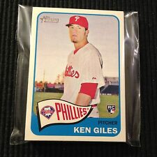 (10) 2014 TOPPS HERITAGE #H555 KEN GILES  HIGH NUMBER LOT  PHILADELPHIA PHILLIES