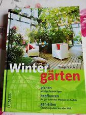 Buch neu Wintergärten planen bepflanzen genießen Haus Garten Pflanzen Bauen