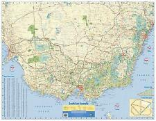 NEW Laminated Wall Maps - Aust South East Australia Wall Map