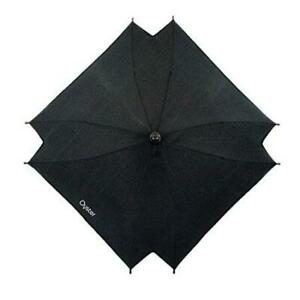 Black Oyster Parasol with Clip to fit Oyster and Oyster Max Pushchairs