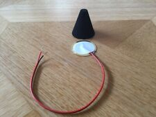 E-Drum Trigger-Kegel / Cone + Piezo-Sensor-Set, 35 mm