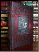 Chinese Myths & Tales New Deluxe Hardcover Mythology Stars Fire Water Yin Nation