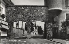 Alte Postkarte - Schladming - Altes Stadttor mit Stadtwappen