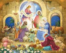 Vermont Christmas Glorious Nativity 1000 Piece Jigsaw Puzzle Manger Family Fun