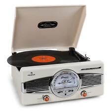 (RICONDIZIONATO) IMPERDIBILE!GIRADISCHI AUNA MG-TT-82B RADIO FM E ALTOPARLANTI