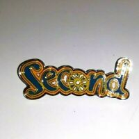 Brownie Guide Second Pin Badge Patrol Girlguiding