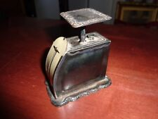AntiquePelouze  Late 1800's Sterling Silver (925) Postal Scale Marked