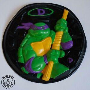 Vintage Teenage Mutant Ninja Turtles Goops Frisbee Flyer Donatello TMNT Hero
