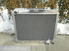 Aluminum Radiator for Chevy Panel Truck C10/C20/C30 Pontiac OLDS 63 64 65 66