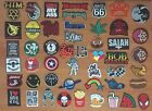 DIY Retro Indy Hipster Punk Music Band Sew Iron On Embroidered Patch Applique