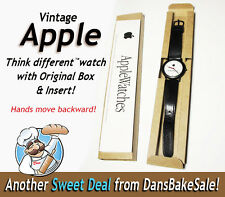 Apple Vintage Watch Think Different Backwards Movement w/ Original Box & Insert!