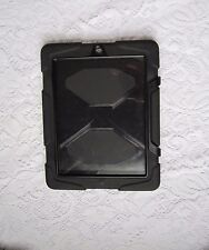 A Black Rugged Griffin iPad Case and Stand
