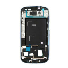 White Front Frame Bezel Chassis Replacement Part for Samsung Galaxy S3 III i9300