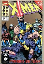 Uncanny X-Men #280-1991 fn+ Jim Lee Mystique Shadow King death