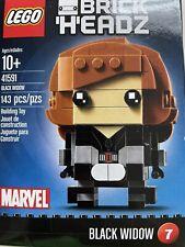 New Lego Brick Headz Marvel Avengers Black Widow Figure #41591 Ships Free Disney