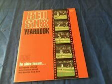 1965 Boston Red Sox Official Baseball Yearbook Ex-Mint condition