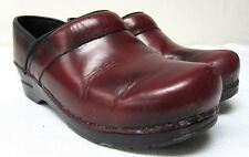 Ladies Dansko Clogs Shoes Sz 37 Professional Cordovon Leather Usa 6.5 -7