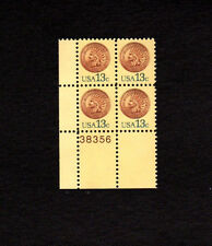 SCOTT # 1734 Indian Head Penny Issue United States Stamps MNH - Plate Block of 4