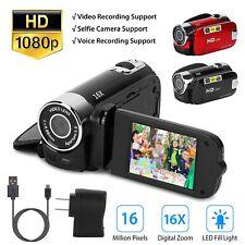 16X Zoom Digital Video Camera Camcorder 1080P YouTube Vlogging Camera Recorder
