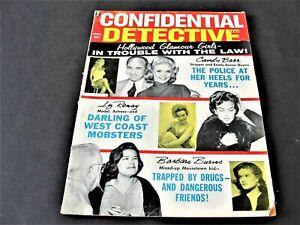 Confidential Detective Cases, Hollywood Glamour Girls, November 1961, Magazine.