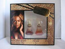 2 Lot Beyonce Parfums Gift Sets Heat .5 oz & Heat Rush .5oz.