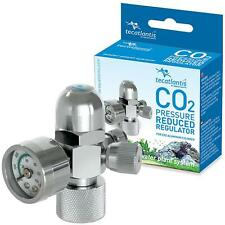 Co2 Pressure Regulator - Dual Gauge - Aquarium Planted Fish Tanks - Aquatlantis