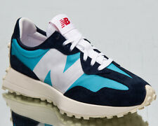 New Balance 327 Women's Navy While Light Blue Casual Lifestyle Sneakers Shoes