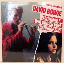 David Bowie - Christiane F soundtrack - Red Vinyl