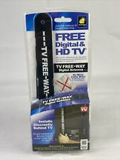 *As Seen On TV* Free-Way Clear HD Television Portable Digital Antenna Broadcast