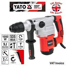 Yato professionnel SDS max marteau perforateur 1050 W 9 Joule 3780pm YT-82130