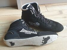 Lonsdale boxing trainers boots UK 11 Black/White