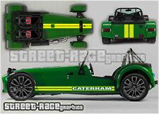 Caterham 014 racing stripes graphics stickers decals vinyl