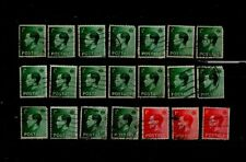 21 Vintage Gb Edward Viii stamps priced to clear stock A116