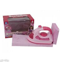 Princess Musical Mini Iron Girls Fun Cleaning Toy Iron with Music & Lights 3 +