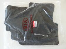 Genuine Kia Sportage Black Carpet Floor Mats Full Set 4pc New OEM 3WF14-AC000WK