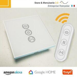 Kit Interrupteur Volet Roulant Connecté Wifi Compatible Google home / Alexa