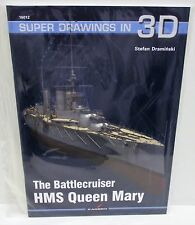 Kagero 16012 - Super Drawings In 3D - Battlecruiser HMS Queen Mary          Book