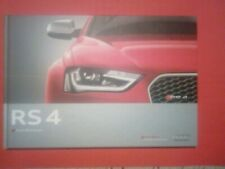Audi RS4 Avant Hardcover Book Katalog Prospekt Brochure Mai 2012 catalog