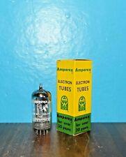 NOS/NIB 1957 Amperex Bugle Boy 12AX7 ECC83 Long Plate Tube Foil D Getter mC4