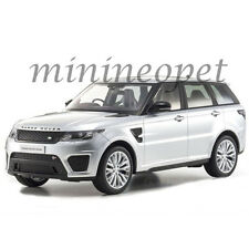 KYOSHO C09542S RANGE ROVER SPORT SVR CLOSED BODY 1/18 MODEL CAR SILVER