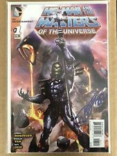 He-man & The Masters Of The Universe #1 Dave Wilkins Signed Skeletor Variant Lot