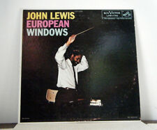 JOHN LEWIS LP European Windows 1958 Rca mono deep groove jazz