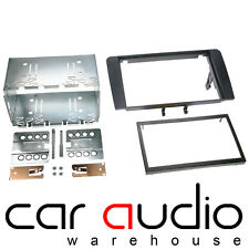 Connects2 Audi A4 2002 Onwards Car Stereo Double DIN Facia Fascia Plates Panel